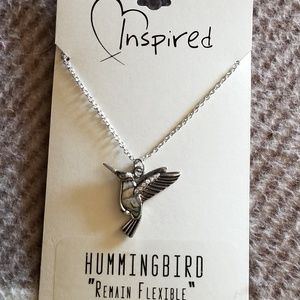 Jewelry - Womens hummingbird necklace